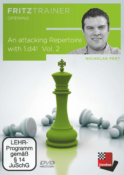 An attacking Repertoire with 1.d4 - Vol. 2 (1.d4 Nf6 2.c4)