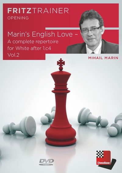Marin's English Love - A complete repertoire for White after 1.c4 Vol. 2