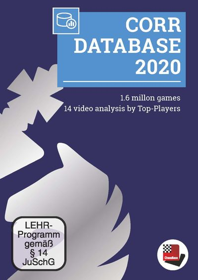 Corr Database 2020 (Upgrade 2018)