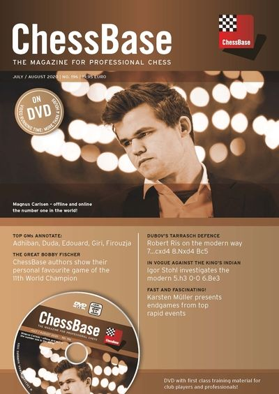 ChessBase Magazine 196 (+DVD)