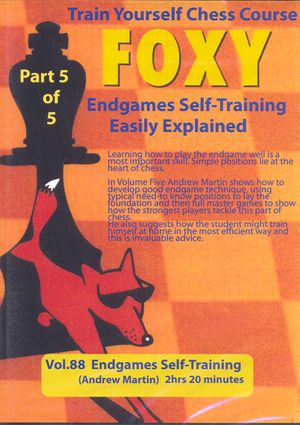Foxy Openings, #88, Endgames Self-Training