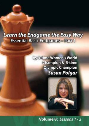 Learn the Endgame the Easy Way, Essential basic Endgames - Part 1
