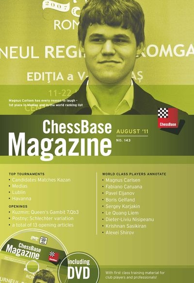 Chessbase Magazine 143 (+DVD)
