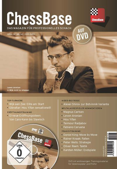 Chessbase Magazine 147 (+DVD)