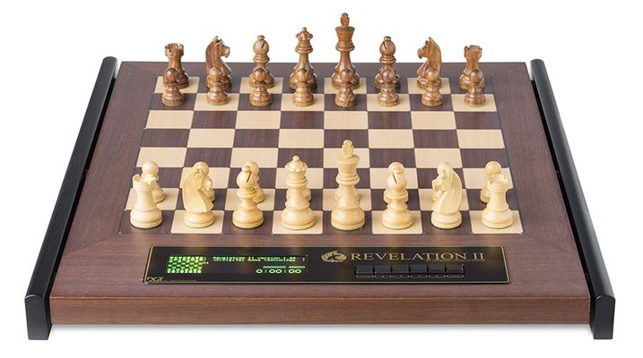 Chess Computer: Revelation II with Timeless Pieces