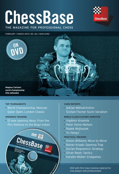 ChessBase Magazine 164 (+DVD)