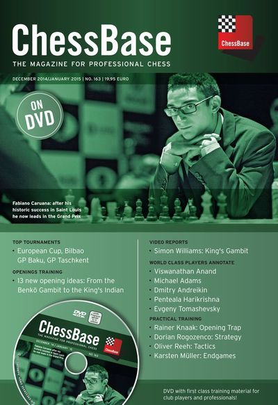 ChessBase Magazine 163 (+DVD)