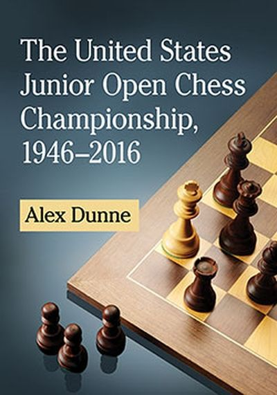 The United States Junior Open Chess Championship, 1946–2016