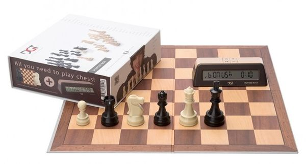 DGT Chess Starter Box Brown