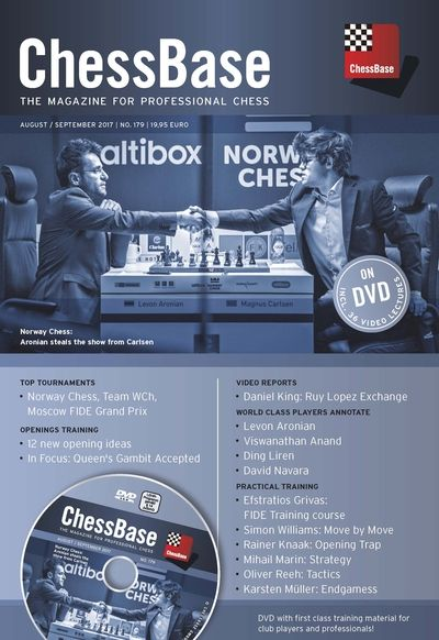 ChessBase Magazine 179 (+DVD)
