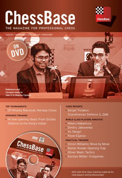 ChessBase Magazine 167 (+DVD)