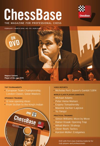 Chessbase Magazine 170 (+DVD)