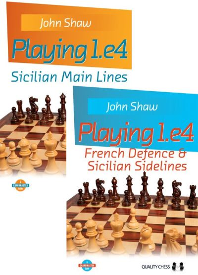 Playing 1.e4: Sicilian Main Lines + French Defence and Sicilian Sidelines