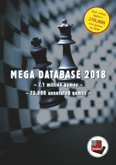 Chessbase Mega Database 2018 (Upgrade Mega 2017)