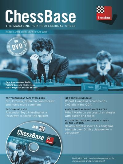 ChessBase Magazine 194 (+DVD)